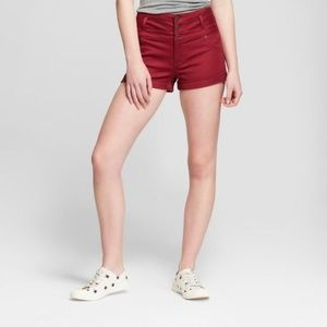 Women's High-Rise Triple Stacked Shorts - Mossimo